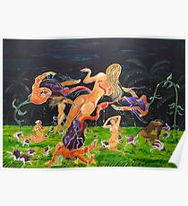 The Garden of Delights Poster