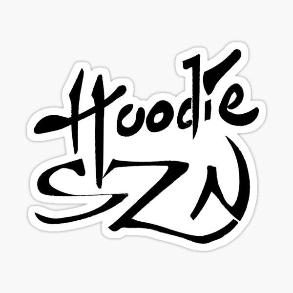 hoodie szn album Sticker