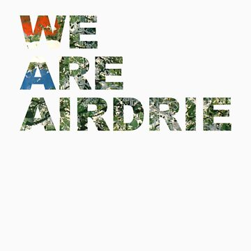 We Are Airdrie by Airdrieonians