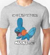 So I heard you like Mudkips? [White Text] Unisex T-Shirt