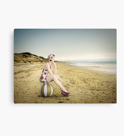 Live in the Sunshine, Swim in the Sea, Drink the Wild Air... Canvas Print