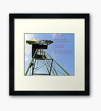 Die Windpomp Framed Print