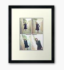 """Alley Cat"" [Amanda Tapping - Actors Studio Very Limited Edition Series Print] Framed Print"