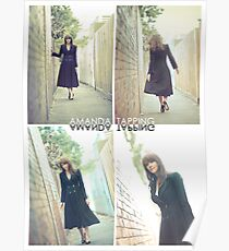 """""""Alley Cat"""" [Amanda Tapping - Actors Studio Very Limited Edition Series Print] Poster"""