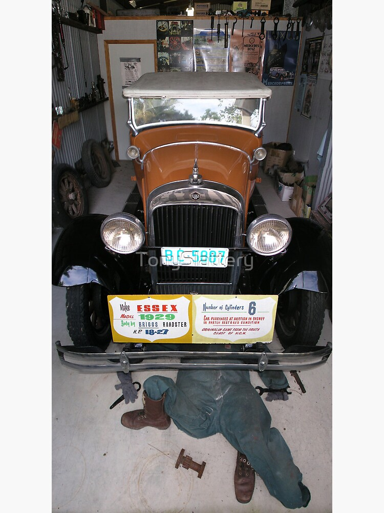 Vintage Car - Essex Super Six by TonySlattery