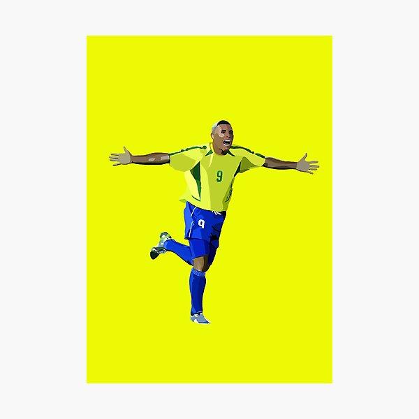 Brazilian Legend Ronaldo Photographic Print