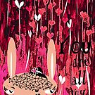 YOU ARE ALL MY LOVE by Barbara Cannon  ART.. AKA Barbieville