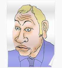 Michael Gove Cartoon Caricature 2 Poster