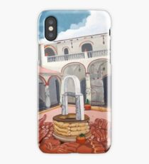 Patio Colonial iPhone Case/Skin