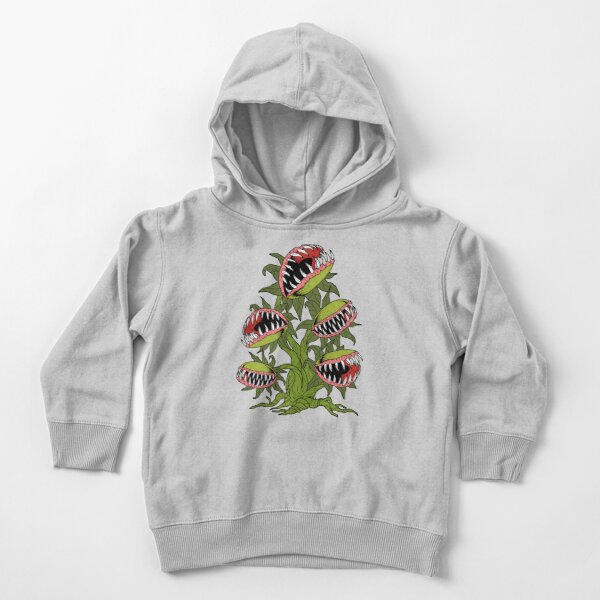 Carnivorous Plant Gifts Monster Venus Fly Trap Toddler Pullover Hoodie