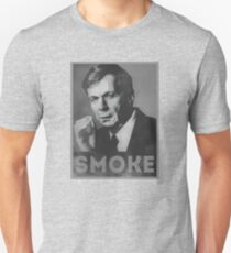 Smoke! Funny Obama Hope Parody (Smoking Man)  T-Shirt