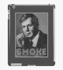 Smoke! Funny Obama Hope Parody (Smoking Man)  iPad Case/Skin