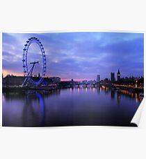 London Before Sunrise Poster