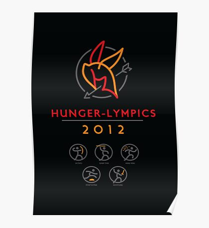 Hunger-lympics - POSTER Poster
