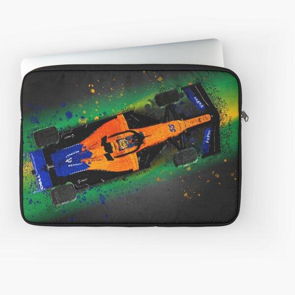 F1 - Carlos Sainz - Brazil 2019 - 1st podium Laptop Sleeve