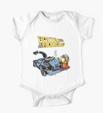 Back To The Banana Future One Piece - Short Sleeve
