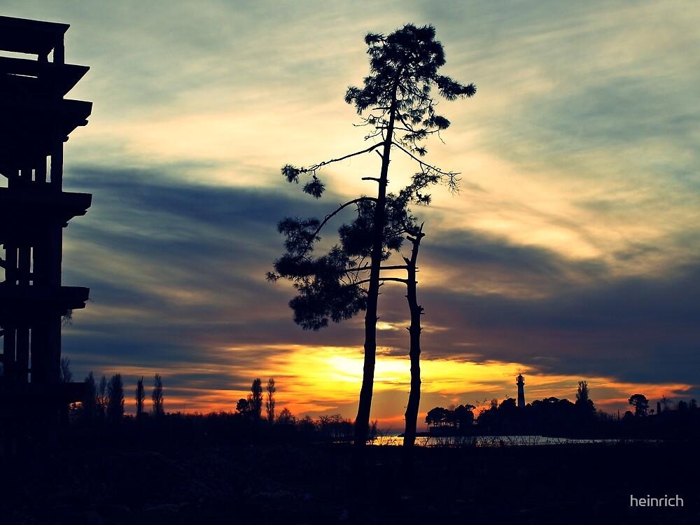Black Sea sunset (@ Poti, Georgia) by heinrich