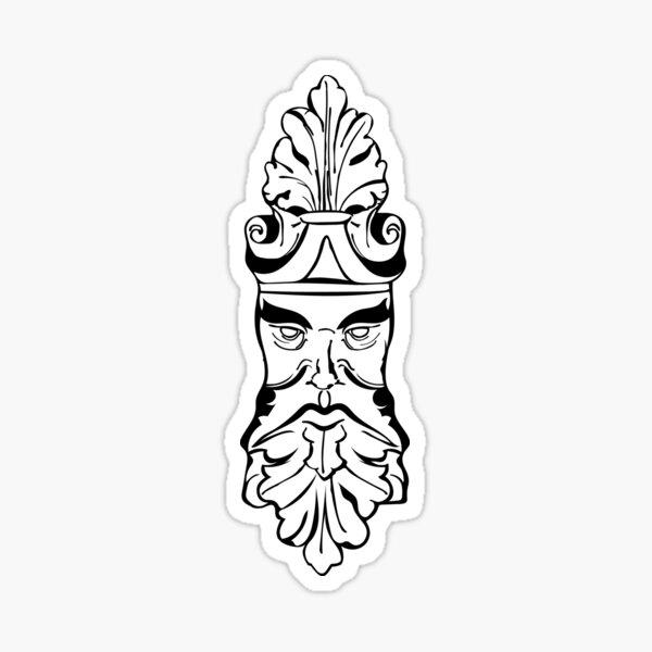 Old Man Oak Sticker
