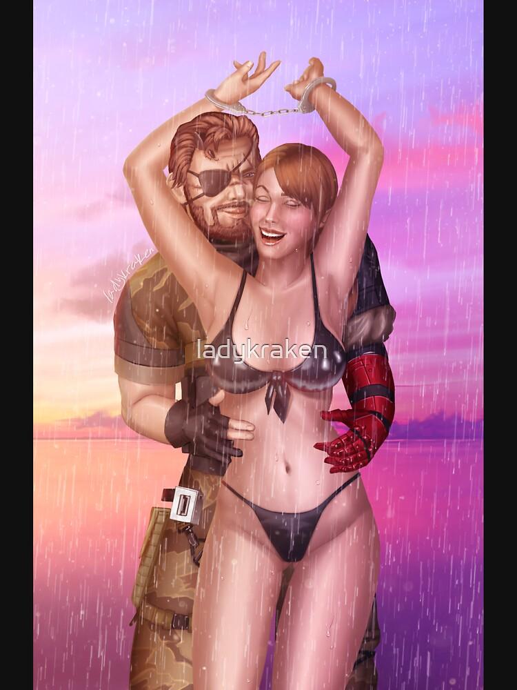 Tickling Soldiers Rain by ladykraken