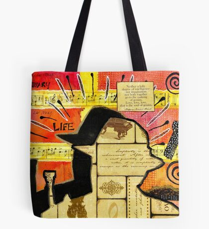 The Man and His Instrument Tote Bag
