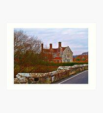 Woolbridge Manor Art Print