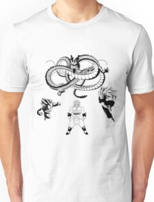 Brolly Vs Goku & Vegeta - Under The Eternal Dragon (Manga Style) Unisex T-Shirt
