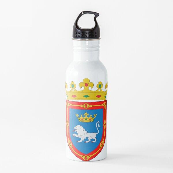 Escudo de armas de Pamplona, España Botella de agua