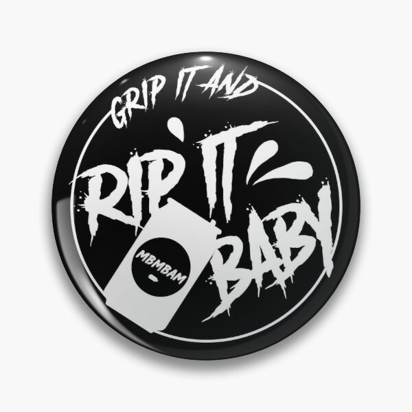 Grip It and Rip It Pin