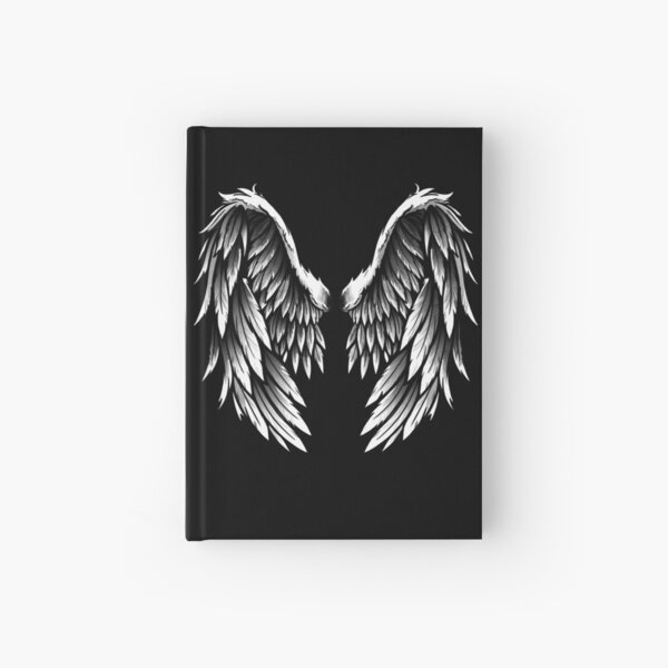Angel wings Hardcover Journal