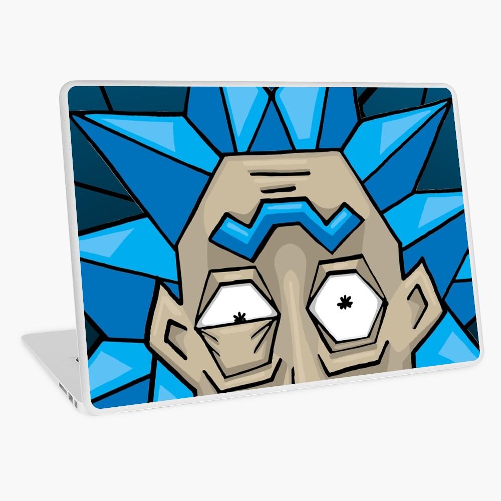 Crystal Rick Laptop Skin