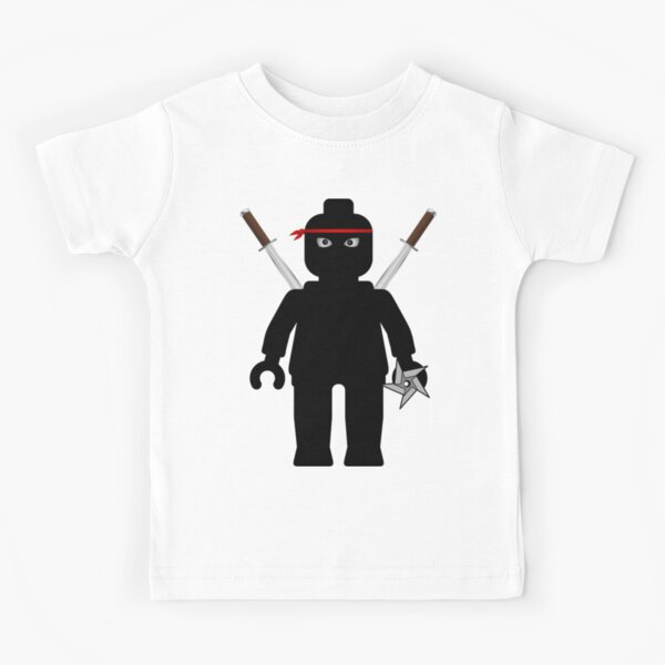 Ninja Minifig / TMNT Foot Soldier Kids T-Shirt