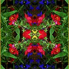 Fidelity - Card VII from The Tarot of Flowers by RC deWinter