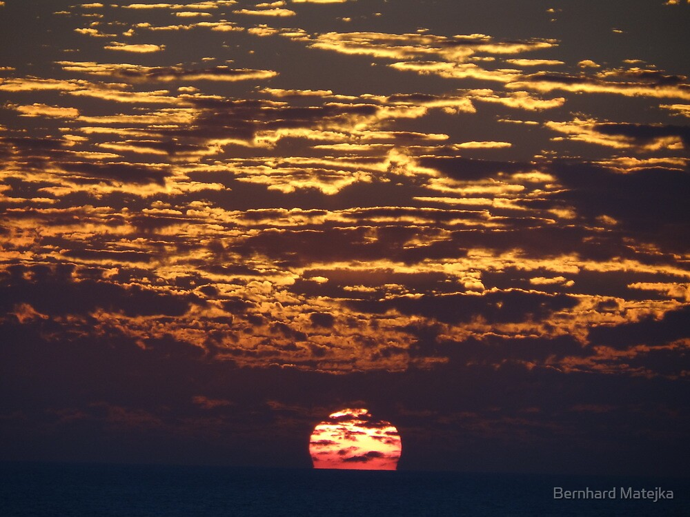 Tropical Sunset - Puesta Del Sol Tropical by Bernhard Matejka
