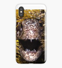 Moray Fangs iPhone Case/Skin