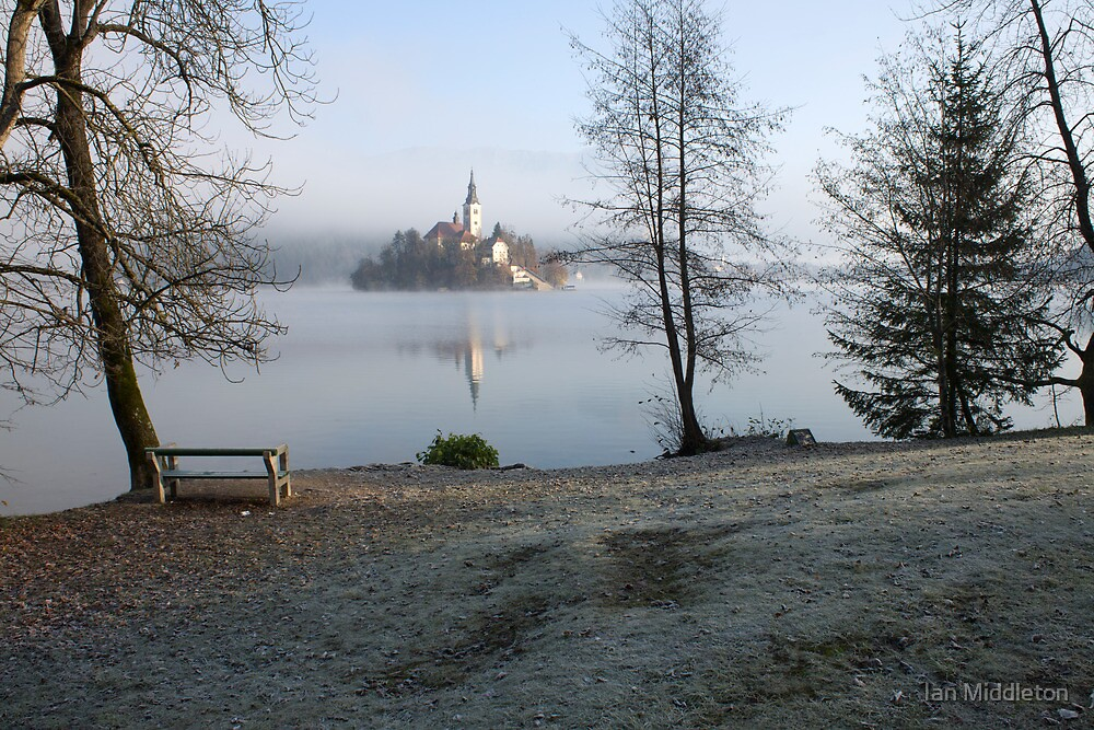 Lake Bled by Ian Middleton