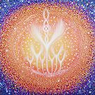 Angel Energyscape - Omniverse by Hayley Mawson Roberts