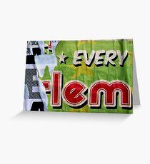 * EVERY E-lem Greeting Card