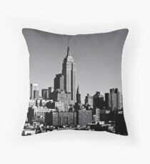 Timeless - The New York City Skyline Throw Pillow