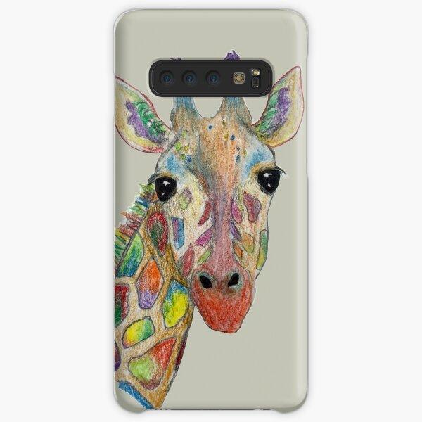 rainbow giraffe Samsung Galaxy Snap Case
