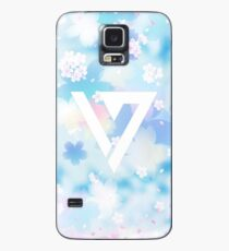 Pastel Floral Seventeen Kpop iPhone and Samsung Case Case/Skin for Samsung Galaxy