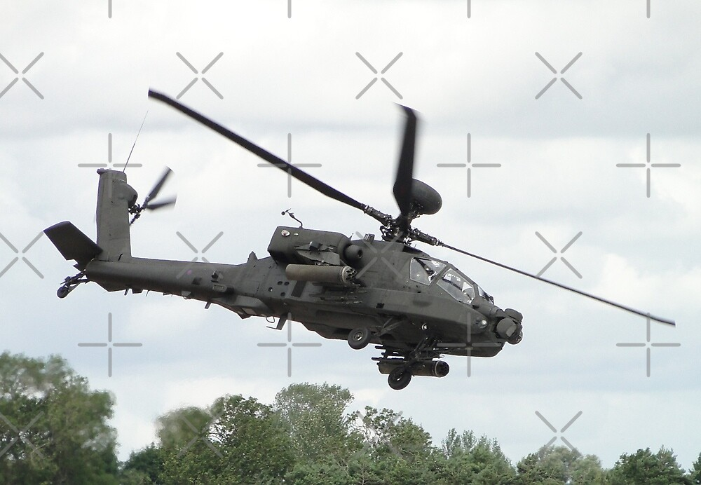 WAH-64D Apache Longbow by Barrie Woodward