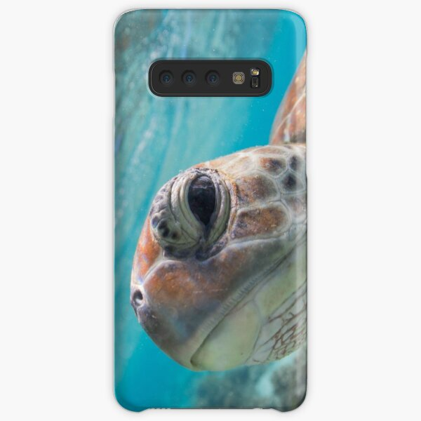 Peekaboo turtle Samsung Galaxy Snap Case