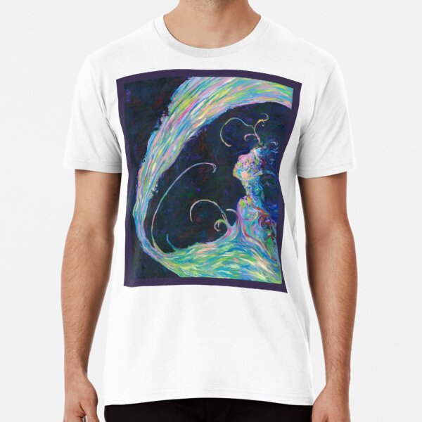 Becoming, Abstract Portrait Art by Courtney Hatcher Premium T-Shirt