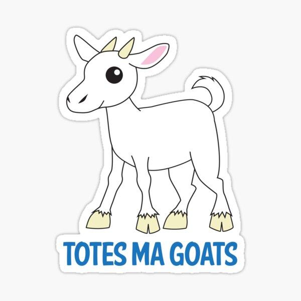 Totes Ma Goats Sticker