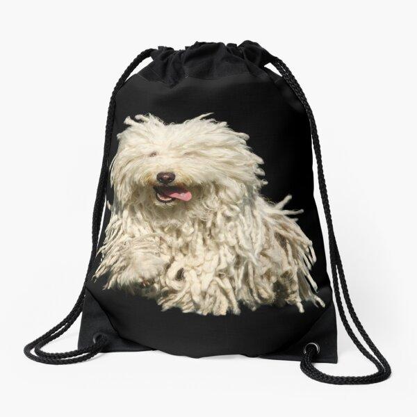 running Puli Drawstring Bag