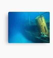 Kittiwake Wreck - Artificial Reef Celebrates Its First Birthday Canvas Print