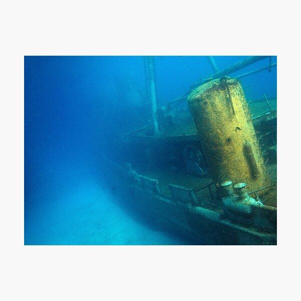 Kittiwake Wreck - Artificial Reef Celebrates Its First Birthday Photographic Print