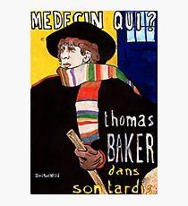 Medecin Qui? Photographic Print