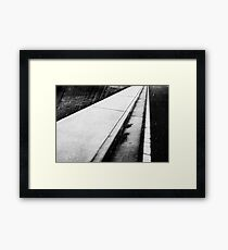The world beneath our feet; sometimes we fail to simply look down and watch our step Framed Print