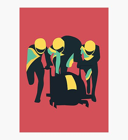 Cool Runnings Photographic Print